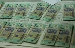 Lượng tiền giả bị thu giữ tăng 0,17%