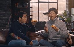 Fan đổ xô đi ăn Pizza vì Song Joong Ki