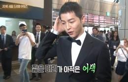 Song Joong Ki ngượng ngùng nói về mái tóc ngắn cũn