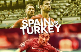 EURO 2016, Tây Ban Nha – Thổ Nhĩ Kỳ: Khó cản nhà Vua! (2h00 trực tiếp trên VTV3 & VTV3HD)