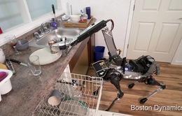 Chú chó robot biết làm việc nhà