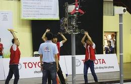 Vòng loại 2 Robocon phía Bắc: WAI 1 tiếp tục đại thắng với 3 Chai-Yo!