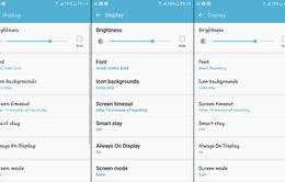 Cách đổi font chữ trên Galaxy S7, S7 Edge