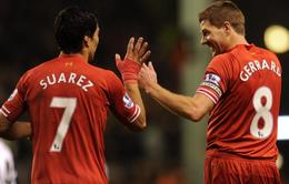 """Luis Suarez viết tâm thư xúc động tri ân """"người anh trai"""" Gerrard"""