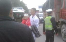 Tấn công bằng dao tại Trung Quốc, hàng loạt trẻ em bị thương