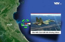 Khẩn trương tìm kiếm máy bay Su-30MK2 mất liên lạc