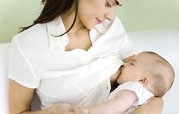 Sữa mẹ là nguồn thực phẩm chính khi bé ăn dặm