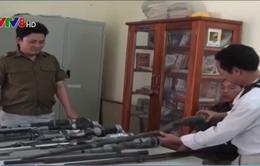 Phú Yên: Thu giữ 15 khẩu súng tự chế