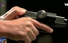 Khóa thông minh ngăn chặn sử dụng súng trái phép