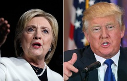 Bà Hillary Clinton và tỷ phú Donald Trump chiếm thế thượng phong