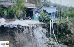 Bình Dương: Nông trường xả nước mạnh làm sụt lún nhà dân