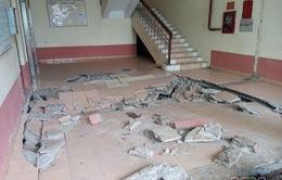 Hà Nội: Sàn nhà chung cư bất ngờ sụt lún nửa đêm, người dân thức trắng lo lắng