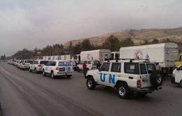 Chuyến hàng viện trợ nhân đạo đầu tiên đến Syria