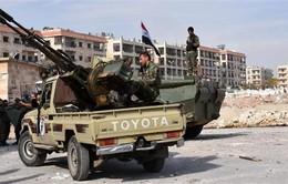 Quân đội Syria giành thắng lợi tại Aleppo