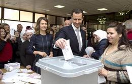 Không khí sôi động trong ngày bầu cử lần 2 tại Syria