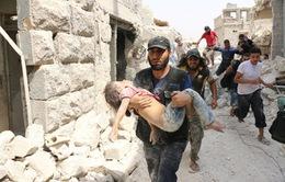 Syria: Các nhóm khủng bố tấn công ở Aleppo, 84 người thiệt mạng