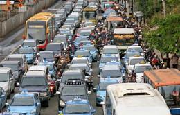 Tắc nghẽn giao thông tại Nhật Bản dịp năm mới