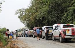 Tắc đường từ TP Hà Giang đi cao nguyên đá Đồng Văn