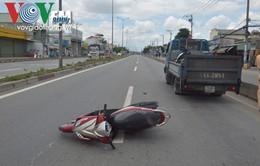 TP.HCM: Truy tìm tài xế xe tải bỏ trốn sau khi gây tai nạn