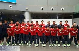 ĐT U14 Việt Nam có mặt tại Brunei, sẵn sàng cho Festival U14 châu Á