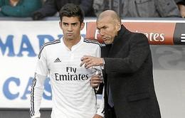 """Chưa đủ tầm khoác áo Real, quý tử Zidane được cho đi """"du học"""""""