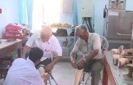 Ủy ban Y tế Hà Lan - Việt Nam hỗ trợ chân tay giả cho người tàn tật Phú Yên
