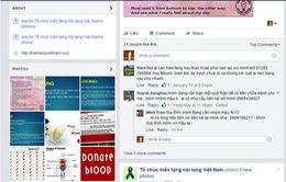 Cảnh báo trang Facebook đăng ký hiến tạng vô danh