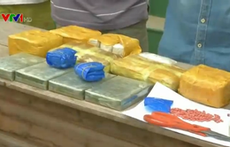 Bắt 3 đối tượng quốc tịch Lào vận chuyển 42.000 viên ma túy tổng hợp