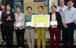 Phó Chủ tịch nước thăm nhân dân vùng lũ tỉnh Phú Yên