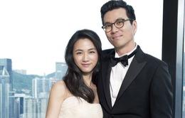 Vợ chồng Thang Duy hạnh phúc đón con gái đầu lòng