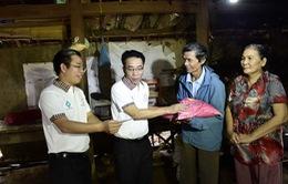 Tiếp tục hỗ trợ an sinh xã hội cho đồng bào vùng lũ Bình Định