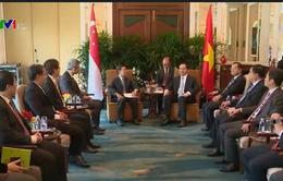 Chủ tịch nước tiếp lãnh đạo hai tập đoàn lớn của Singapore