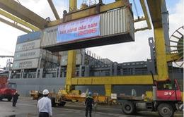 Cảng Đà Nẵng đón tấn hàng đầu tiên năm 2016