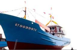 Hạ thủy tàu vỏ thép đầu tiên theo Nghị định 67 ở Quảng Trị