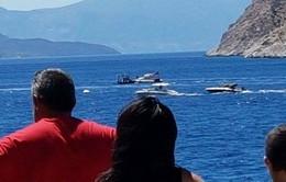 Hy Lạp: Tàu du lịch va chạm tàu cao tốc, 4 người thiệt mạng