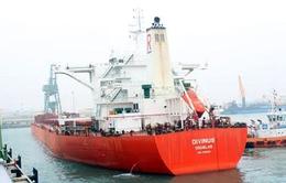 Cảng Sơn Dương đón tàu tải trọng 170.000 tấn
