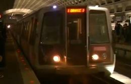 Mỹ đóng cửa tạm thời hệ thống tàu điện ngầm ở Washington