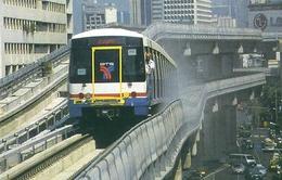 Thái Lan khai trương hệ thống tàu điện do Nhật Bản xây dựng