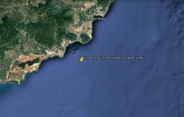 Chìm tàu tại biển Bình Thuận: Đã định vị được tàu Thành Đạt 01