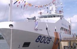 Bàn giao tàu CSB 8005 cho Cảnh sát biển Việt Nam