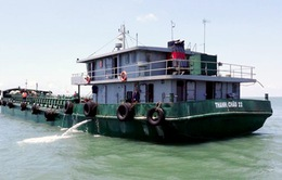 Bắt tàu chở lậu hơn 100.000 lít dầu DO