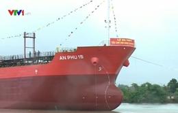 Hạ thủy tàu chở dầu lớn nhất Việt Nam