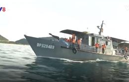 Tàu Bộ đội biên phòng cứu 6 ngư dân gặp nạn trên biển