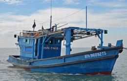 Tích cực tìm kiếm ngư dân mất tích trên biển Bình Thuận
