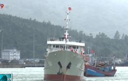 Cứu hộ thành công tàu cá gặp nạn trên biển Quảng Trị