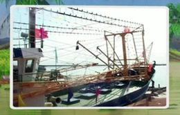 Bàn giao tàu cá vỏ thép gần 14 tỷ đồng