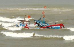 Tàu cá Bình Định bị tàu nước ngoài đâm chìm, 1 người tử vong