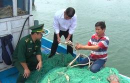Tàu cá của ngư dân Quảng Trị bị 3 tàu lạ tấn công, phá lưới