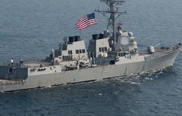 Tàu chiến Mỹ cập cảng Philippines