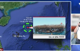 Sức khỏe 34 ngư dân gặp nạn tại Hoàng Sa ổn định